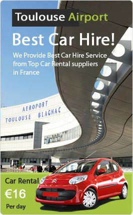 Toulouse Airport Car Rental